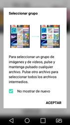 LG K4 (2017) - Bluetooth - Transferir archivos a través de Bluetooth - Paso 3