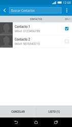 HTC One M8 - Mensajería - Escribir y enviar un mensaje multimedia - Paso 8