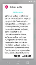 LG X Screen - Netwerk - Software updates installeren - Stap 8