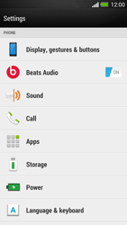 HTC One - Voicemail - Manual configuration - Step 4