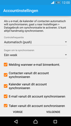 Sony D6603 Xperia Z3 - E-mail - e-mail instellen (outlook) - Stap 8