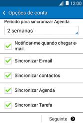 Samsung Galaxy Young II - Email - Adicionar conta de email -  9