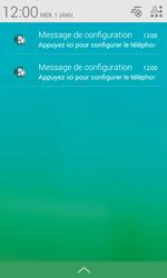 Alcatel Pop S3 (OT-5050X) - Paramètres - Reçus par SMS - Étape 4