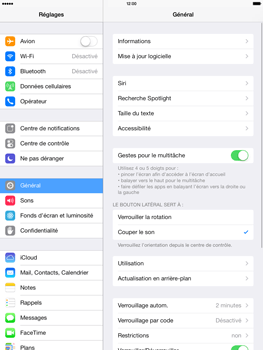 Apple iPad 4th generation iOS 7 - Bluetooth - connexion Bluetooth - Étape 5