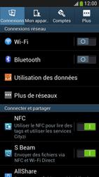 Samsung Galaxy S4 Mini - Aller plus loin - Désactiver les données à l'étranger - Étape 4