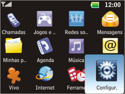 LG C365 - Segurança - Como ativar e desativar o código PIN do seu celular - Etapa 3