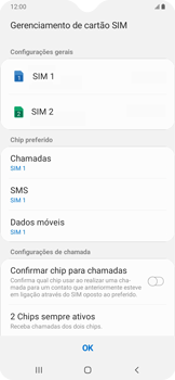 Samsung Galaxy A20 - Primeiros passos - Como ativar seu aparelho - Etapa 20