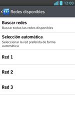 LG Optimus L5 II - Red - Seleccionar una red - Paso 9