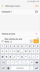 Samsung Galaxy S7 Edge - Mensajería - Escribir y enviar un mensaje multimedia - Paso 17