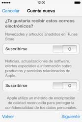 Apple iPhone 4S iOS 7 - Aplicaciones - Tienda de aplicaciones - Paso 16
