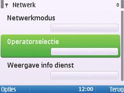 Nokia E5-00 - Netwerk - Gebruik in het buitenland - Stap 7