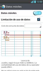 LG Optimus L5 II - Internet - Ver uso de datos - Paso 10