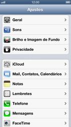 Apple iPhone iOS 6 - Email - Como configurar seu celular para receber e enviar e-mails - Etapa 3