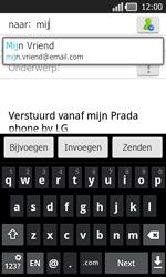 LG P940 PRADA phone by LG - E-mail - e-mail versturen - Stap 5
