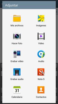 Samsung Galaxy Note 3 - E-mail - Escribir y enviar un correo electrónico - Paso 11