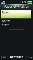 Sony Ericsson U10i Aino - Internet - Handmatig instellen - Stap 21