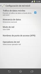 Sony Xperia Z1 - Red - Seleccionar el tipo de red - Paso 8