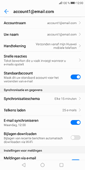 Huawei P Smart (Model FIG-LX1) - E-mail - Instellingen KPNMail controleren - Stap 8