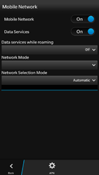 BlackBerry Z30 - Internet - Usage across the border - Step 8