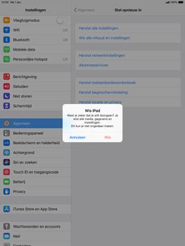 Apple ipad-pro-10-5-inch-ios-12 - Resetten - Fabrieksinstellingen terugzetten - Stap 7