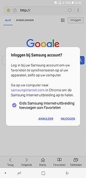 Samsung Galaxy A8 Plus - Internet - hoe te internetten - Stap 10