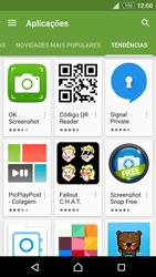Sony Xperia Z3 Plus - Aplicações - Como pesquisar e instalar aplicações -  13