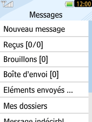 LG T385 - Contact, Appels, SMS/MMS - Envoyer un SMS - Étape 4