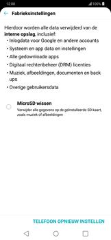 LG g7-thinq-lm-g710em - Instellingen aanpassen - Fabrieksinstellingen terugzetten - Stap 6