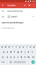 Nokia 3 - Android Oreo - E-mail - E-mails verzenden - Stap 8