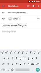 Nokia 3 - Android Oreo - E-mail - e-mail versturen - Stap 7