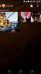 Sony Xperia E4g - Photos, vidéos, musique - Envoyer une photo via Bluetooth - Étape 7