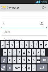 LG E610 Optimus L5 - E-mail - envoyer un e-mail - Étape 4