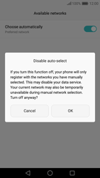 Huawei Nova - Network - Manually select a network - Step 8