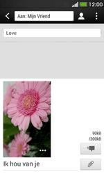 HTC Desire 500 - MMS - afbeeldingen verzenden - Stap 15