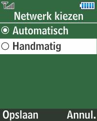 Samsung E1270 - Buitenland - Bellen, sms en internet - Stap 5