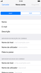 Apple iPhone 8 - iOS 12 - Email - Configurar a conta de Email -  11