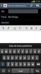 Samsung I9300 Galaxy S III - E-mail - Escribir y enviar un correo electrónico - Paso 7