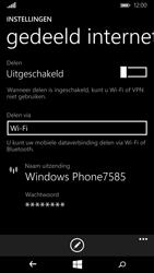Microsoft Lumia 640 (Type RM-1072) - WiFi - Mobiele hotspot instellen - Stap 5