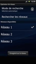 Sony Ericsson Xperia Ray - Réseau - utilisation à l'étranger - Étape 13