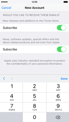 Apple iPhone 6 iOS 9 - Applications - Create an account - Step 16