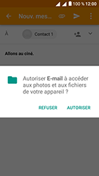 Alcatel U5 - E-mails - Envoyer un e-mail - Étape 11