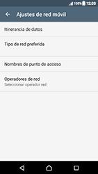 Sony Xperia XZ (F8331) - Red - Seleccionar una red - Paso 6