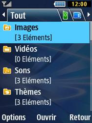 Samsung Solid 271 - Photos, vidéos, musique - Envoyer une photo via Bluetooth - Étape 4