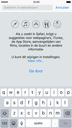 Apple iPhone 6 iOS 10 - Internet - Hoe te internetten - Stap 4