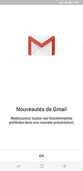 Samsung Galaxy S8 Plus - E-mail - Configuration manuelle (gmail) - Étape 5