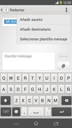 Sony Xperia M2 - Mensajería - Escribir y enviar un mensaje multimedia - Paso 11