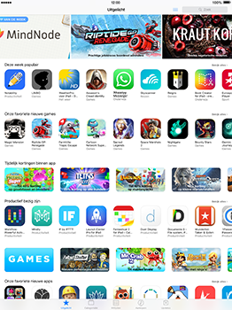 Apple iPad Pro 12.9 (1st gen) - iOS 10 - Applicaties - MyProximus - Stap 3