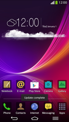 LG D955 G Flex - Settings - Configuration message received - Step 7