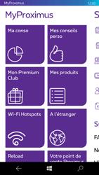 Microsoft Lumia 950 - Applications - MyProximus - Étape 13