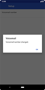 Google Pixel 3 - Voicemail - Manual configuration - Step 11